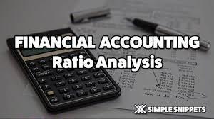 Rations analysis Financial accounting
